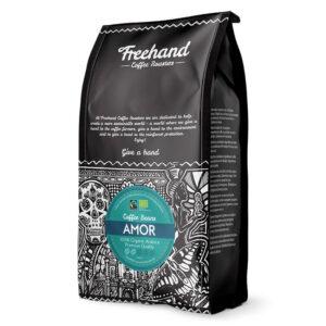 Kavos pupelės Freehand Fairtrade Organic Amor