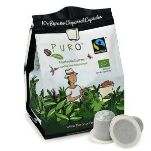 Nespresso kapsulės Puro Fairtrade Charparral