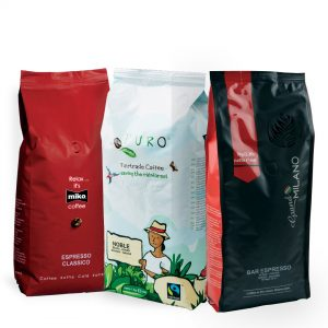 Miko, Puro ir Grand Milano kavos rinkinys