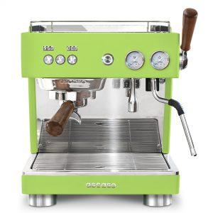 Pusiau automatinis kavos aparatas Ascaso BABY T Plus Fresh Pistachio